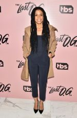 SUSAN KELECHI WATSON at The Last O.G. Show Premiere in New York 03/29/2018
