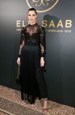 SVEVA ALVITI at Elie Saab Show at Paris Fashion Week 03/03/2018