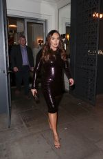 TAMARA ECCLESTONE at Sumosan Twiga Restaurant in London 03/21/2018