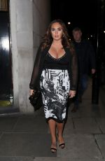 TAMARA ECCLESTONE Night Out in London 03/19/2018