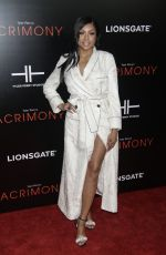 TARAJI P. HENSON at Acrimony Premiere in New York 03/27/2018