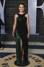 TATIANA MASLANY at 2018 Vanity Fair Oscar Party in Beverly Hills 03/04/2018