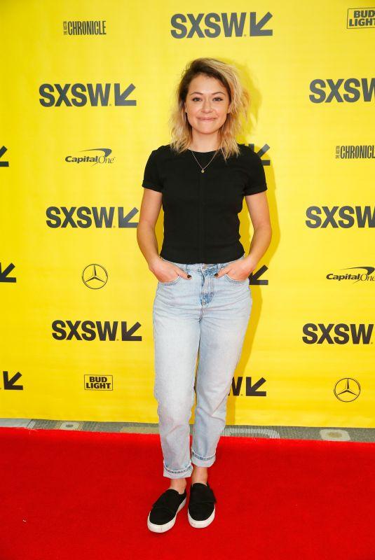TATIANA MASLANY at Conversation with Tatiana Maslany at SXSW Festival in Austin 03/10/2018