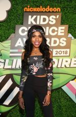 TEALA DUNN at Nickelodeon Kids' Choice Awards Slime Soiree in Venice 03/23/2018