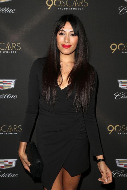 TEHMINA SUNNY at Cadillac Oscar Celebration in Los Angeles 03/01/2018