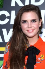 TIFFANY ALVORD at 2018 Kids' Choice Awards in Inglewood 03/24/2018