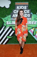 TIFFANY ALVORD at Nickelodeon Kids' Choice Awards Slime Soiree in Venice 03/23/2018