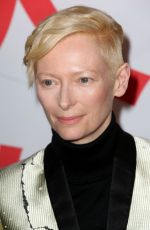 TILDA SWINTON at Isle of Dogs Premiere in New York 03/20/2018