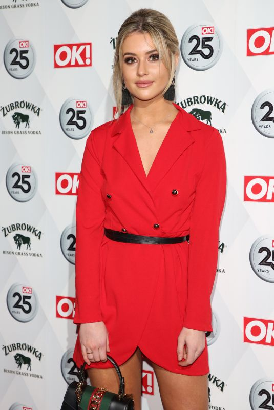 TINA STINNES at OK! Magazine's 25th Anniversary in London 03/21/2018