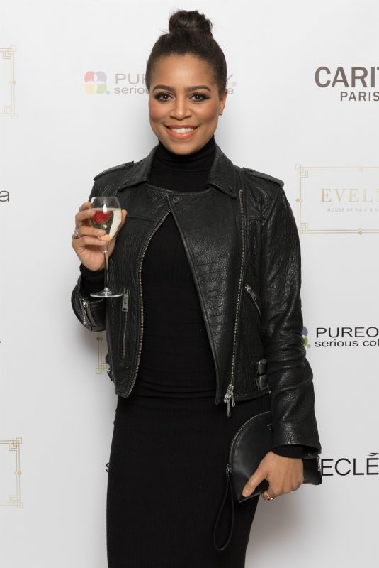 TISHA MERRY at Evelyn House of Hair and Beauty VIP Night Party in Manchester 03/20/2018