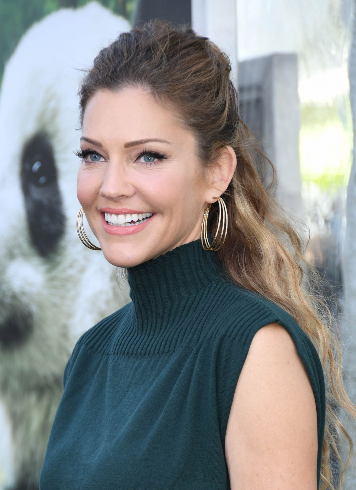 Tricia Helfer At Pandas The Imax Experience Premiere In Hollywood