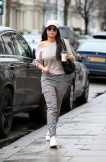 TULISA CONTOSTAVLOS Out and About in London 03/14/2018