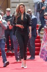 TYRA BANKS on the Set of America's Got Talent in Pasadena 03/25/2018
