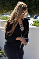 TYRA BANKS Out and About in Beverly HIlls 03/27/2018