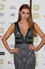 UNA HEALY at 2018 National Film Awards in London 03/28/2018