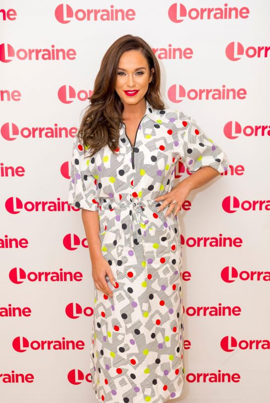 VICKY PATTISON at Lorraine Show in London 03/27/2018