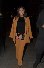 VICKY PATTISON Out for Dinner at Sexy Fish in London 03/26/2018