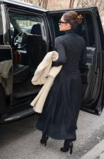 VICTORIA BECKHAM Leaves Her Hotel in New York 03/05/2018