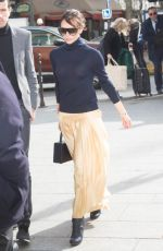 VICTORIA BECKHAM Out and About in Paris 03/14/2018