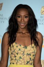 VICTORIA EKANOYE at RTS Programme Awards in London 03/20/2018