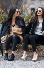 VICTORIA JUSTICE and MADISON REED Out in New York 03/15/2018