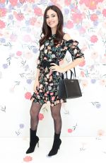 VICTORIA JUSTICE at Kate Spade New York Bloom Bloom Event in New York 03/20/2018