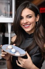 VICTORIA JUSTICE at LMDM Grand Opening Party in New York 03/22/2018
