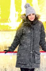 VICTORIA JUSTICE Ice Skating at Rockefeller Center in New York 03/21/2018