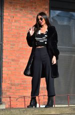 VICTORIA JUSTICE on the Set of a Photoshoot in Booklyn 03/20/2018