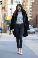 VICTORIA JUSTICE Out and About in New York 03/15/2018