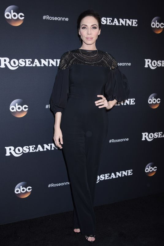 WHITNEY CUMMINGS at Roseanne Premiere in Los Angeles 03/23/2018