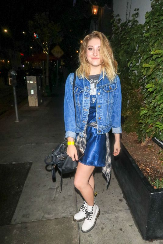 WILLOW SHIELDS at Avenue Nightclub in Los Angeles 03/21/2018
