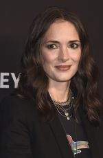 WINONA RUDER at Stranger Things Panel at Paleyfest 2018 in Hollywood 03/25/2018