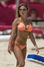 ZARA HOLLAND in Bikini on the Beach in Barbados 03/30/2018