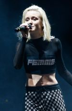 ZARA LARSSON Performs at Lollapalooza Brazil 2018 in Sao Paulo 03/23/2018
