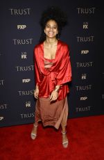 ZAZIE BEETZ at FX All-star Party in New York 03/15/2018