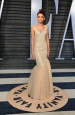 ZENDAYA COLEMAN at 2018 Vanity Fair Oscar Party in Beverly Hills 03/04/2018