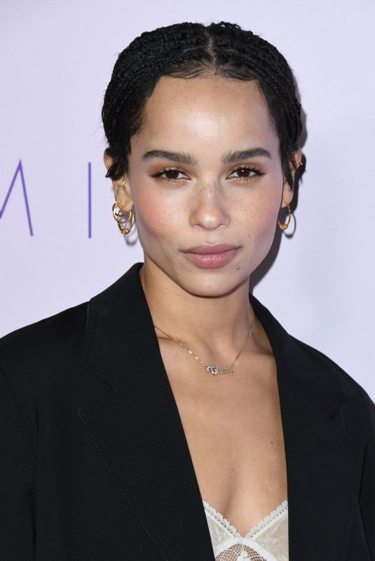 ZOE KRAVITZ at Gemini Premiere in Los Angeles 03/15/2018
