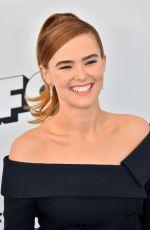 ZOEY DEUTCH at 2018 Film Independent Spirit Awards in Los Angeles 03/03/2018