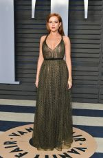 ZOEY DEUTCH at 2018 Vanity Fair Oscar Party in Beverly Hills 03/04/2018