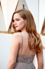 ZOEY DEUTCH at 90th Annual Academy Awards in Hollywood 03/04/2018