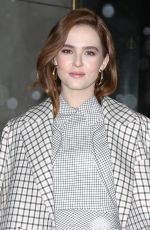 ZOEY DEUTCH Leaves Today Show in New York 03/21/2018