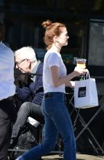 ZOEY DEUTCH Out for Lunch in Los Angeles 03/26/2018
