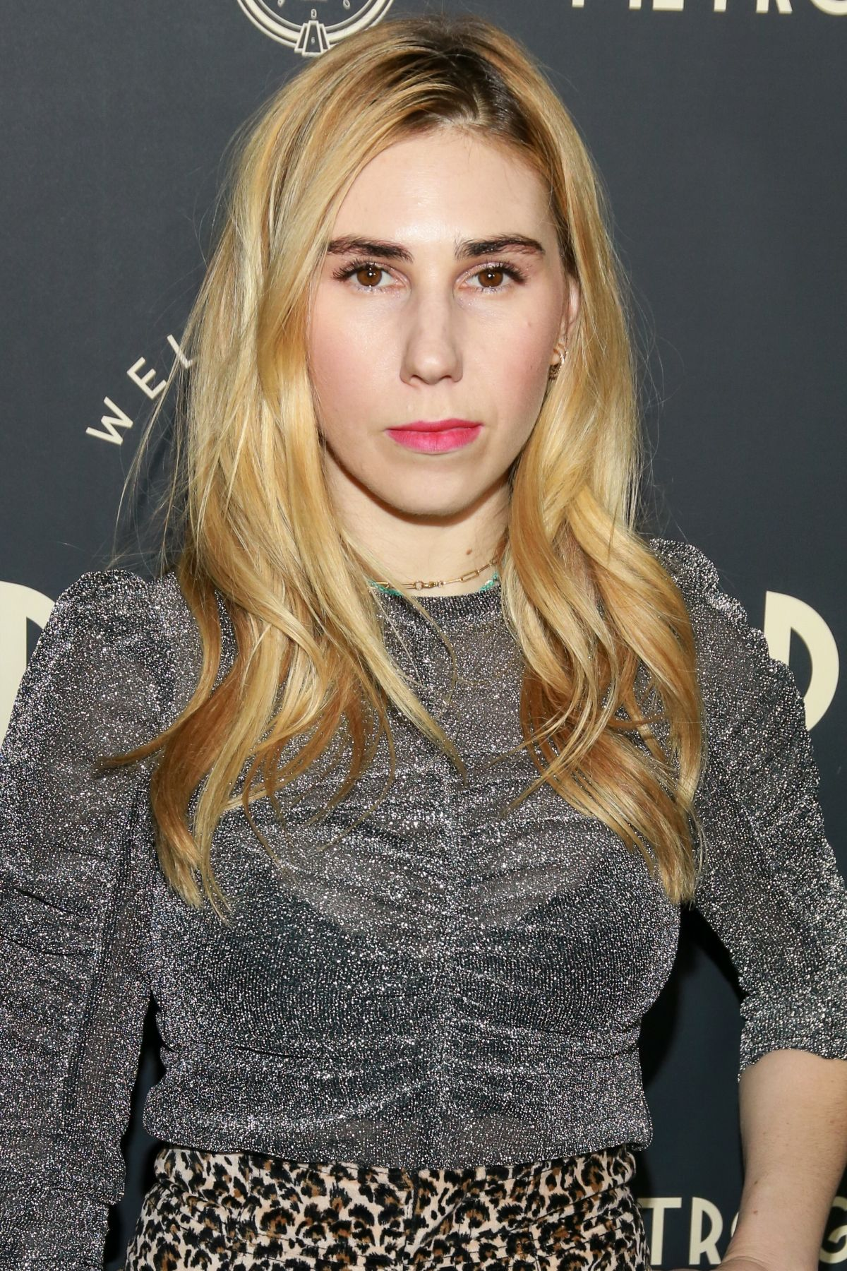 ZOSIA MAMET at Metrograph 2nd Anniversary Party in New ...