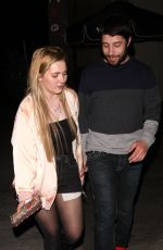 ABIGAIL BRESLIN Arrives at Delilah in West Hollywood 04/16/2018
