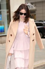 ABIGAIL SPENCER Arrives at Today Show in New York 04/03/2018