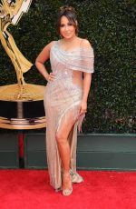 ADRIENNE BAILON at Daytime Emmy Awards 2018 in Los Angeles 04/29/2018