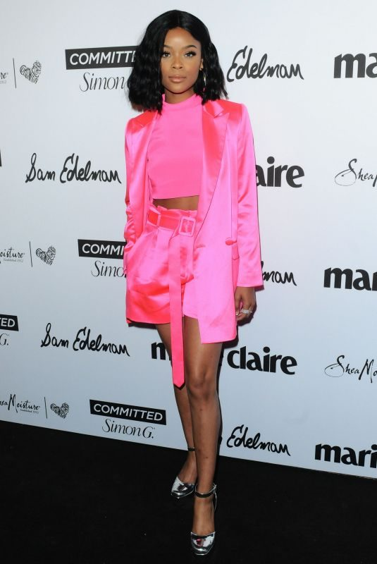 AJIONA ALEXUS at Marie Claire Fresh Faces Party in Los Angeles 04/27/2018