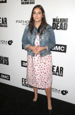 ALANNA MASTERSON at FYC The Walking Dead and Fear the Walking Dead in Los Angeles 04/15/2018