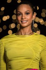 ALESHA DIXON at Lightning Girl Photocall in London 04/05/2018